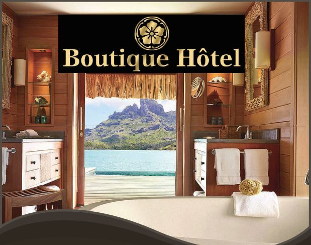 boutique hotel page photo